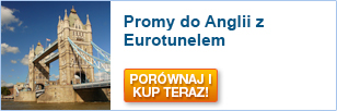 Promy do Anglii z Eurotunelem