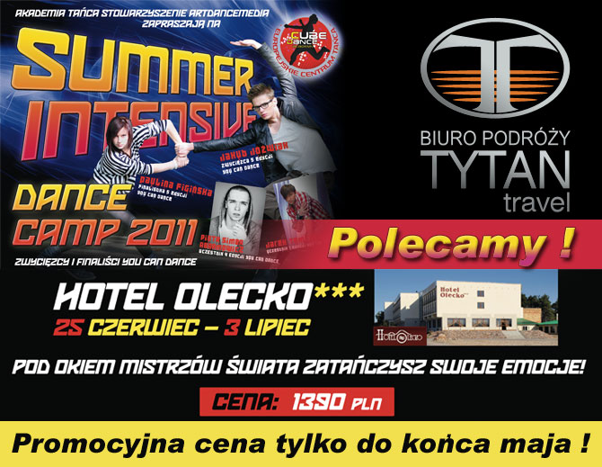 YCD - Summer Intensive Dance Camp 2011 - Olecko